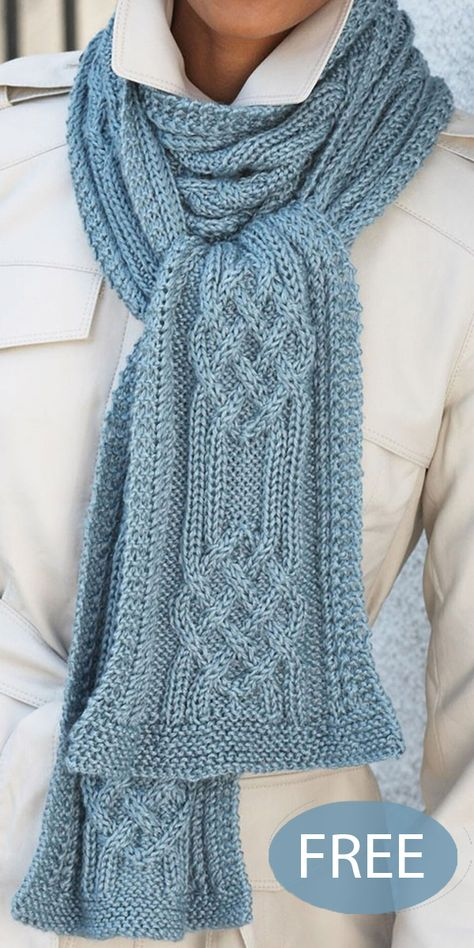 Free Knitting Pattern for Hill and Valley Cable Scarf Free Knitting Pattern for Hill and Valley Cable Scarf - Timeless scarf with a stunning braided cable stitch design. Knitting Pattern for Hill and Valley Cable Scarf Cable Knitting Patterns, Lace Knitting, Knit Patterns, Knitting Stitches, Knit Scarves Patterns Free, Outlander Knitting Patterns, Vogue Knitting, Knitting Machine, Vintage Knitting