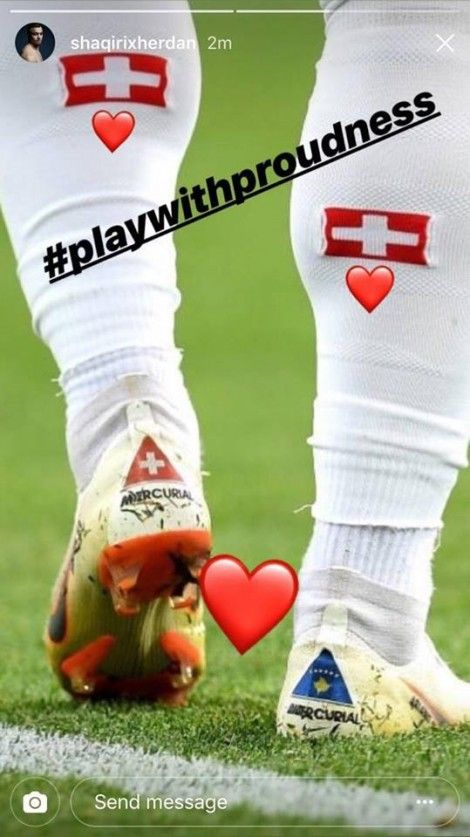Xherdan Shaqiri Instagram Players Sports