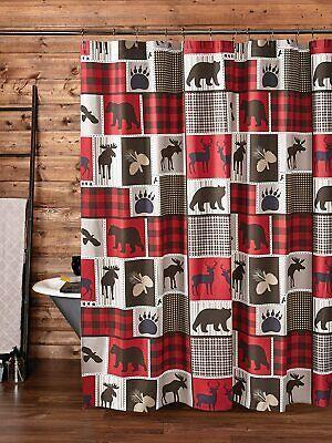 cabin shower curtain