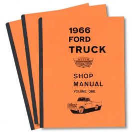 Truck Shop Manual 4 Volume Set 1454 Pages Trucks Manual Ford Parts