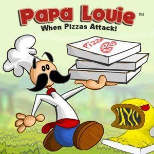 Papa Louie When Pizzas Attack Cool Math Games Papa Papa
