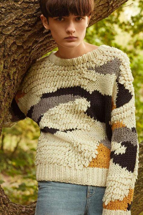 Hand Knitted Patchwork Jumper - stephane leroy - Image Sharing World