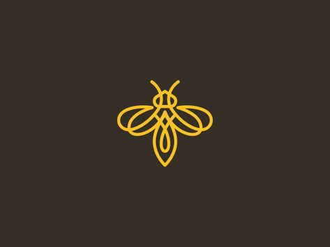 Bee - Bee by Dimitrije Mikovic Best Picture For hip tattoo For Your Taste You are looking for something - Honey Bee Tattoo, Bumble Bee Tattoo, Bee Tattoo Meaning, Tattoos With Meaning, Bee Outline, Bee Icon, Logo Bee, Honey Logo, Bee Drawing