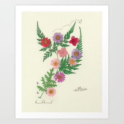 Boom, Bloomed Art Print