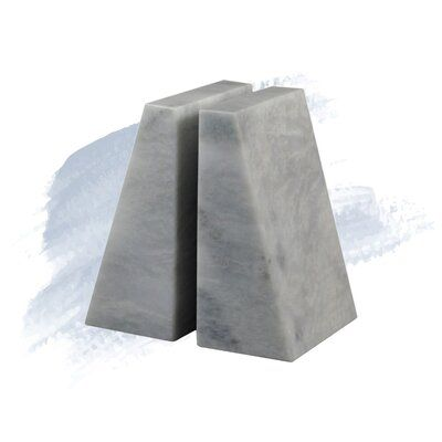 Foundstone Marble Non Skid Bookends Bookends Foundstone Decorating Your Home