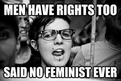 Why I'm not a feminist.