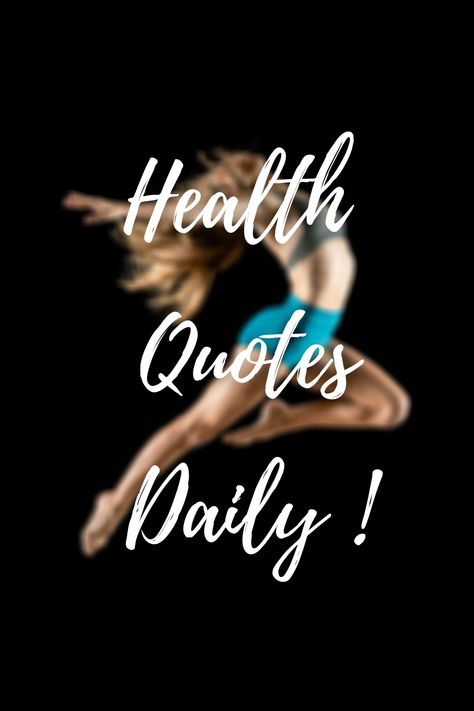 HEALTH QUOTES DAILY ! | FITNESS MOTIVATION