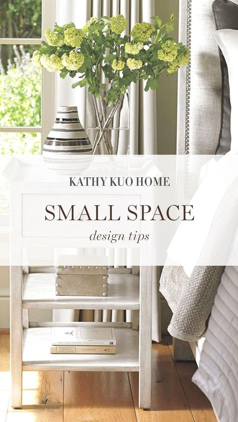 Small Space Living Tips   Kathy Kuo Home