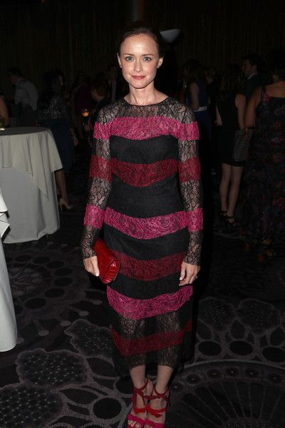 Actor Alexis Bledel attends the 33rd Annual Television Critics Association Awards.