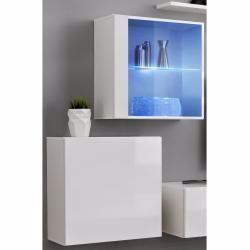 Stylefy Vago Xxii Quadrat Wohnwand Anbauwand Grau Anbauwand Grau Quadrat Stylefy Vago Wohnwand Xxii In 2020 Living Room Shelves Furniture Living Room Wall Units
