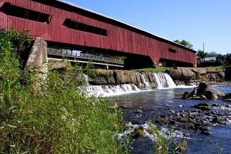 Indiana is full of Covered Bridges. We even have a Covered Bridge Festival that runs for 2 weeks in Parke County. Thousands of people visit it each year.