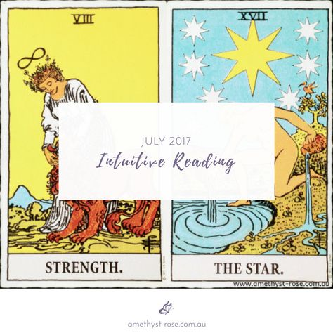 July #IntuitiveReading <3 Awareness of Self is crucial as we enter the next phase of our evolution. Check out this month's energy: click on the image.   Step lightly as you recover your Truth...  <3 Vanda xx    #MonthlyEnergies #MonthlyReading #EnergyReading #TarotNumerology #Tarot #TarotReadings #InsightsFromTheTarot #WisdomOfTheTarot #ReadingsWithVanda #IntuitiveReadings #IntuitiveTarot #EmailReadings #healing #HealingWithTheTarot #InnerWork #intuitive #PsychicReadings #Strength #TheStar