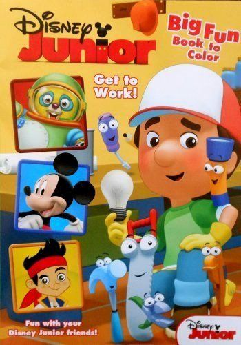 Disney Junior Coloring Games Inspirational Disney Junior Mickey Mouse Handy Manny And The Gang Big Disney Junior Art Stuff For Kids Disney Coloring Pages