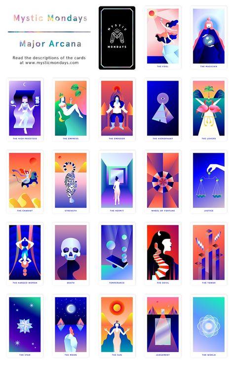 Mystic Mondays ☾ Tarot Cards by Grace Duong — Kickstarter