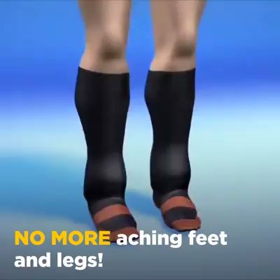 CopperMed Anti-Fatigue Compression Socks