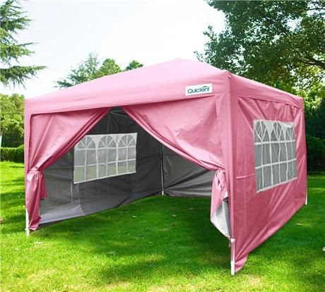 Qucitent 4season Standard 10 X 10 Pop Up Canopy Hot Pink In 2020 Gazebo Canopy Tent Canopy