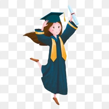 Graduation Season Doctor Hat Girl Element Doctor Clipart Graduation Season Doctor Png Transparent Image And Clipart For Free Download Graduation Girl Girl With Hat Graduation Invitations Template