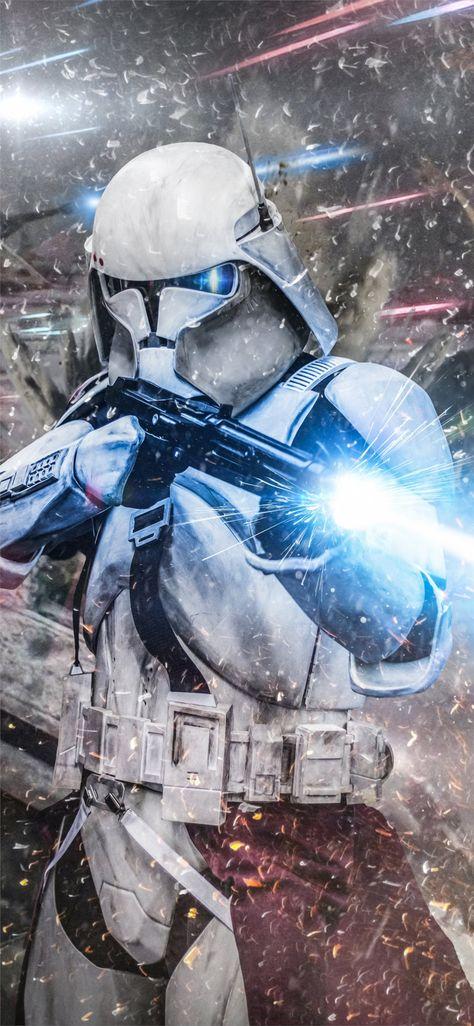 stormtrooper commander Wallpaper