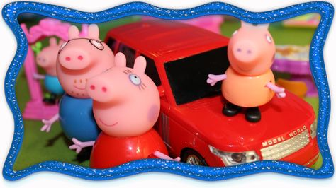свинка пеппа игрушки развивающие мультфильмы