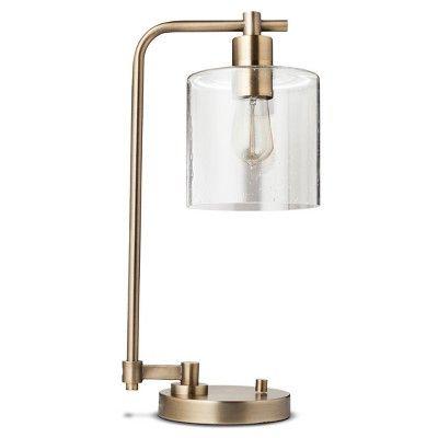 Hudson Industrial Desk Lamp Threshold Industrial Desk Lamp Industrial Table Lamp Energy Efficient Light Bulbs