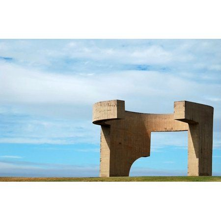 Canvas Print Art Asturias Comb Of The Wind Gija N Architecture Stretched Canvas 10 X 14 Available In Walmart Stretch Canvas Canvas Prints Buy Canvas Prints