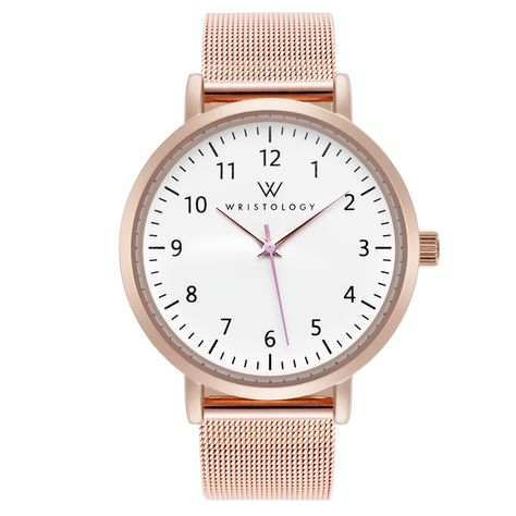 Olivia Numbers Rose Gold