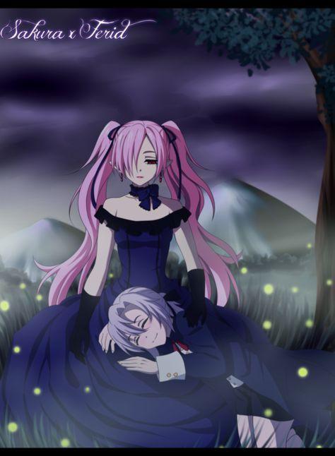 Ferid X Sakura By Whiterabbit20 Yandere Anime Anime Art Girl Vampire Girls