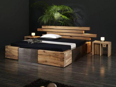 holz bett design - Google Search | Bedroom | Pinterest | Bett ...