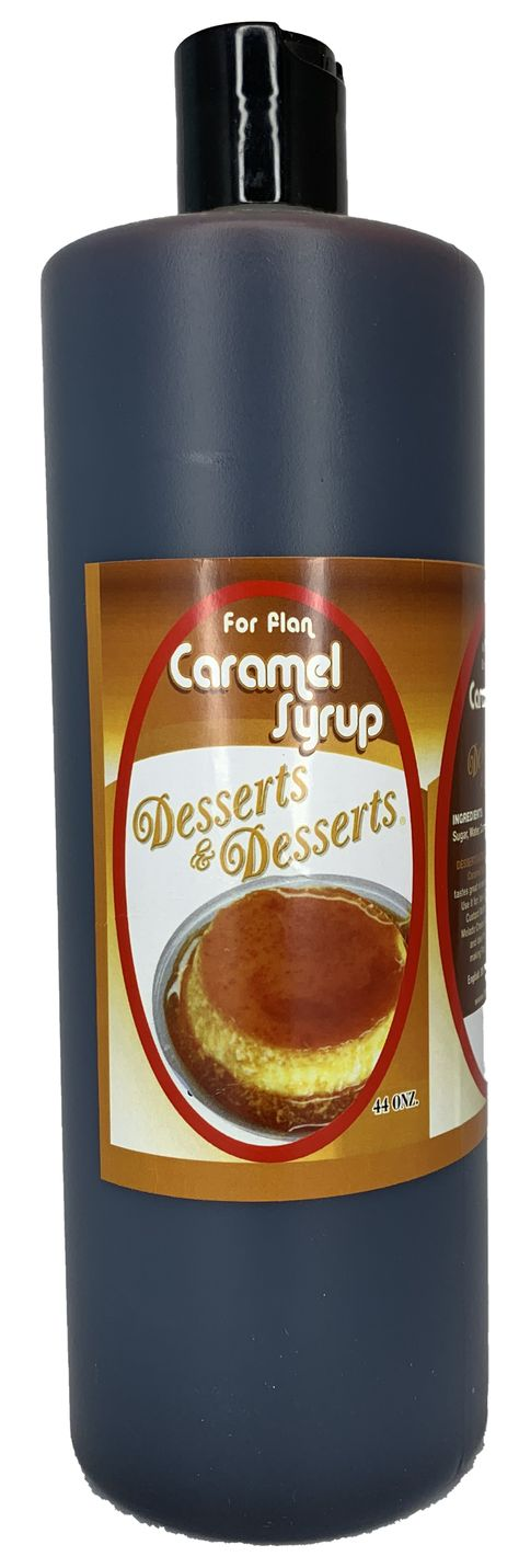 Desserts & Desserts Caramel Syrup - 44 Oz for flans, puddings and Quesillos