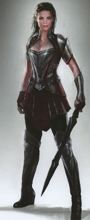 Lady Sif concept art (marvel)