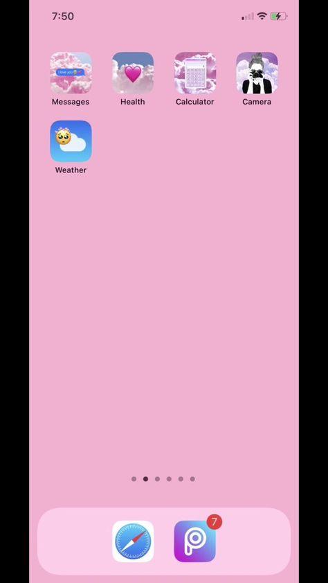 PicsArt + iOS 14 = 🥺💕