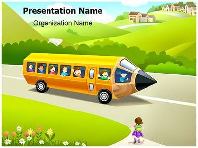 Children School Education Powerpoint Template is one of the best - nature powerpoint template