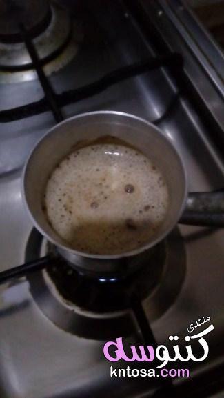 طريقة عمل القهوة القهوة التركي مشروبات منبهات دنيا امرأة كويت كويتيات كويتي دبي الامارات السعودية Coffee Recipes Coffee Drink Recipes Sweet Meat