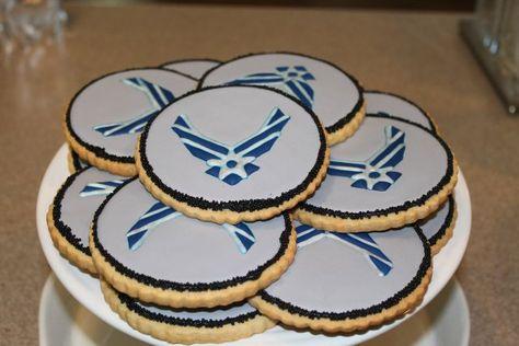 Air Force Cookies