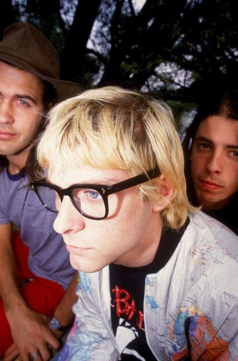 Nirvana in Sweden, 1992.