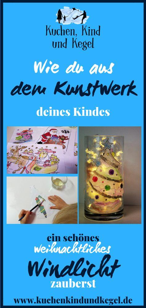 Diy Basteln Mit Kindern Weihnachtliches Windlicht Gruppenboard