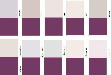 Comment Associer La Couleur Aubergine En Decoration Couleur