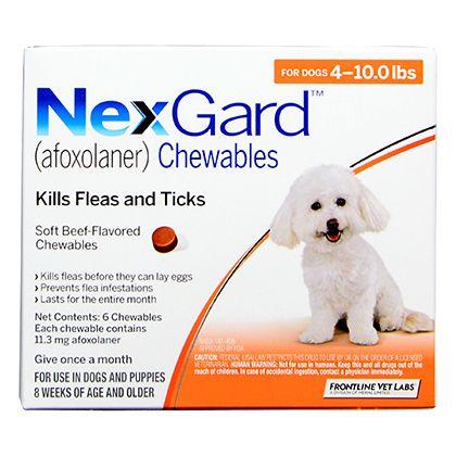 Nexgard Chewables In 2020 Heartworm Medication Dog Weight Flea