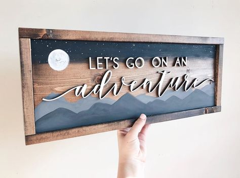 Two newbies (but kinda oldies) to the site! ✨ The last name sign can now be done with a white backing and black laser cut 😍 Just choose… 3d Laser, Laser Cut Wood, Laser Cutting, Wood Laser Ideas, Diy Laser Cutter, Laser Cutter Projects, Diy Arts And Crafts, Wood Crafts, Diy Crafts