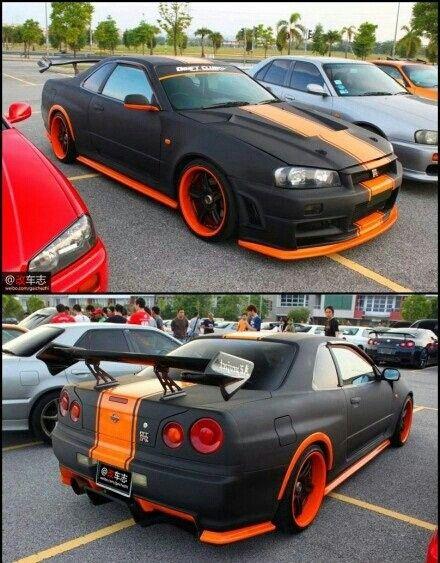 Nissan Skyline GT R The Orange!