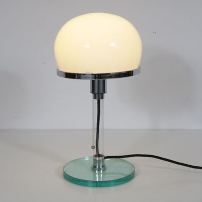 Bauhaus Table Lamp By Wilhelm Wagenfeld 1980s 2 Felder