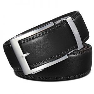Martino Belt for Men Classical Retro Leather Belt Jeans Belt Genuine Leather Belt for Men