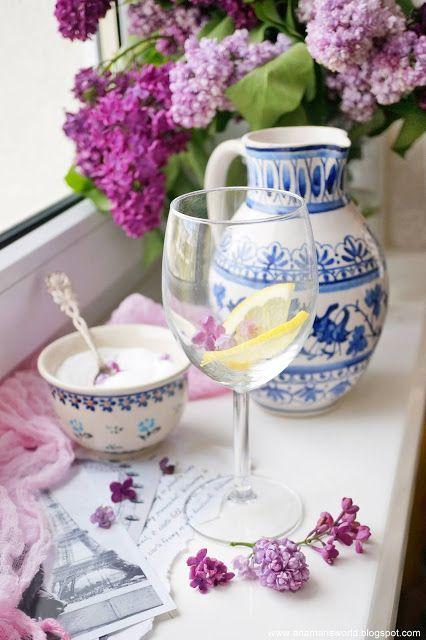 Lemoniada Z Kwiatami Bzu Lilaka Food Blog I Foods Blog