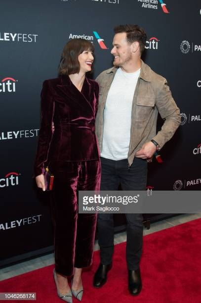 Actors Caitriona Balfe and Sam Heughan attend the