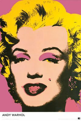 Details About Marilyn Monroe By Andy Warhol 24x36 Poster Vintage Style Classic Portrait Print Pop Art Posters Andy Warhol Pop Art Pop Art Marilyn