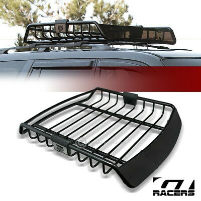 Details About Universal Blk Roof Rack Cage Basket Travel Luggage Holder Top Tray W Fairing G11 V 2020 G