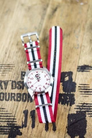 South Carolina Gamecocks Nato Striped Strap Watch