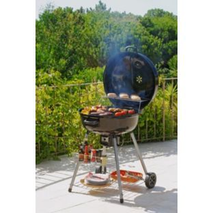 Grill King 66cm Charcoal Kettle Bbq With Hinge Get