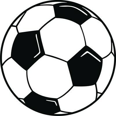 2x Soccer Ball Logo Vinyl Decal Sticker Different Colors Size For Car Window Fashion Home Garden Homedcor Decalsstickersvi Soccer Ball Soccer Art Soccer