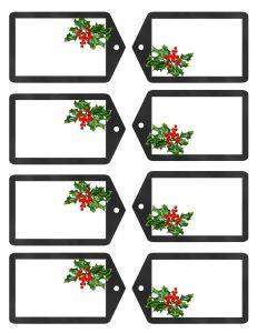 Free Christmas Gift Tag Printable  Enjoy!! www.TraceyGurley.com